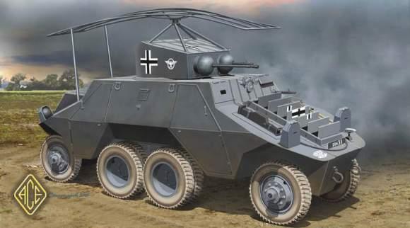 独・ADGZ八輪重装甲車・無線型 (ACE model)