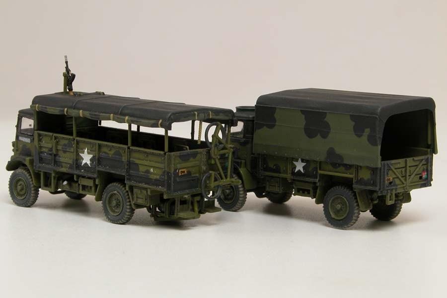 1/76 ベッドフォード QLT 軍用ト...