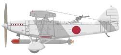 1/72 三菱 七試艦上攻撃機 [3MT1...