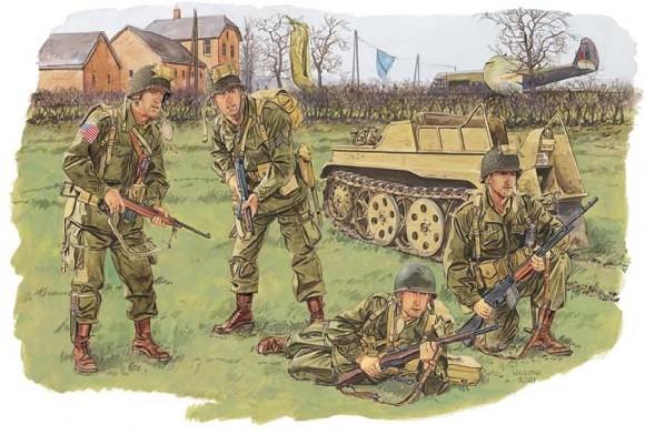 1/35 WW.IIアメリカ陸軍 空挺部...