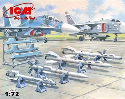 1/72 露・空対空ミサイルセット ...