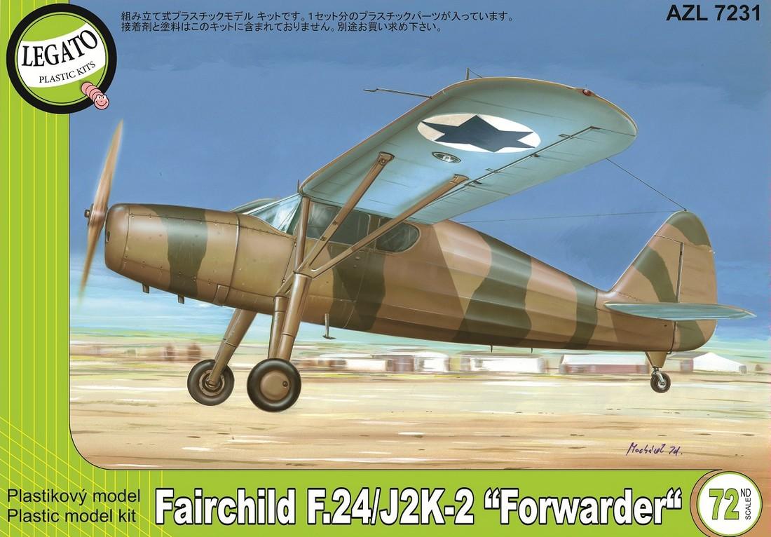 1/72 フェアチャイルド F.24/J2K...
