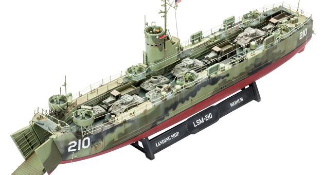 アメリカ海軍 LSM(新金型) (ドイツレベル) ドイツレベル > ■管理番号: 6817