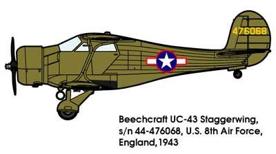 1/48 米・ビーチクラフトUC-43ス...
