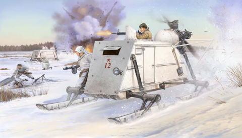 1/35 ソビエト軍 NKL-26 装甲 ス...