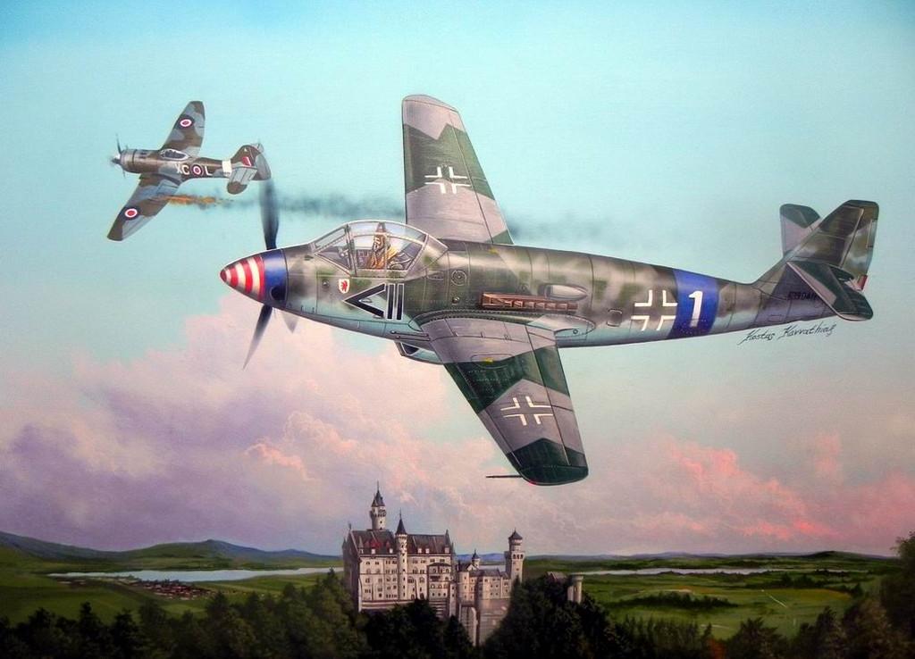 """1/48 ドイツ軍 Me509 """"ヴァ... 1/48 ドイツ軍 Me509"""