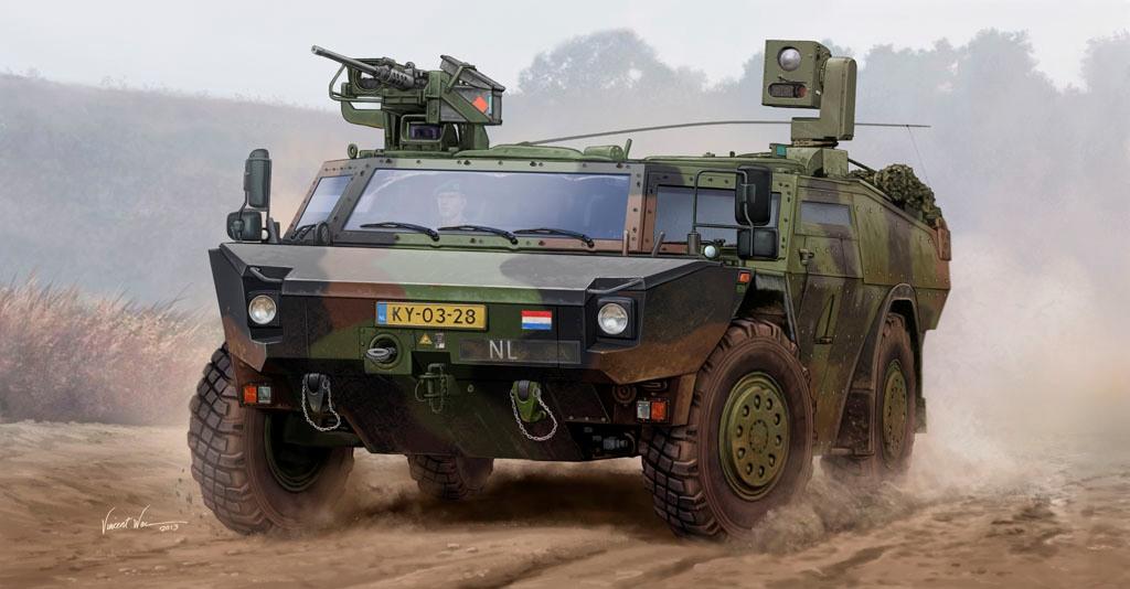 1/35 オランダ陸軍 フェネック軽...