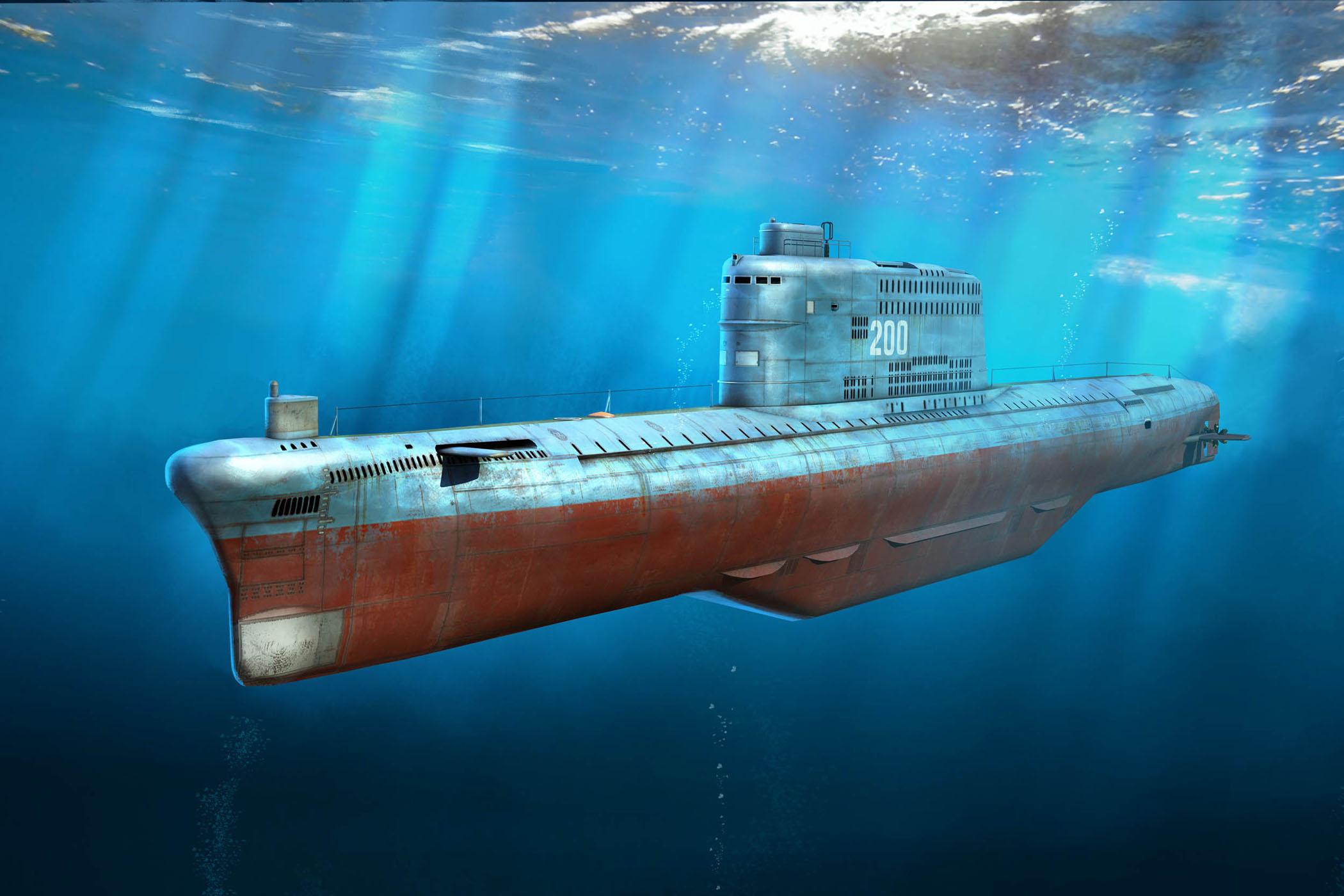 1/350 中国海軍 031型弾道ミサイル潜水艦 ゴルフ型 [83514] - 3,872円 ...